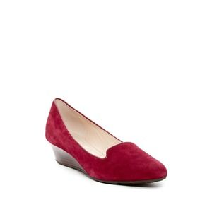 Cole Haan Tali Luxe Suede Wedge Pump Size 5 1/2